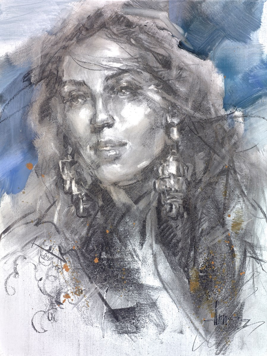 Heaven in Your Eyes by anna razumovskaya -  sized 18x24 inches. Available from Whitewall Galleries